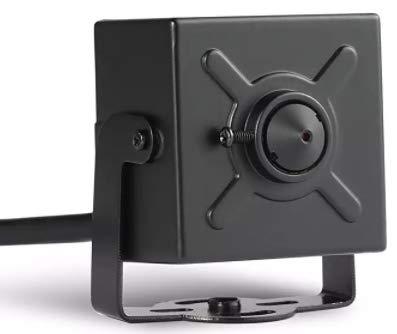 Q-camera CáMara De Seguridad Mini Cuadrado 1080P 2MP 4 En 1 Tvi / Cvi / Ahd / Cvbs CáMara HD Oculta 1/3 'Sensor 3.7mm CáMara De VisióN Nocturna para Interiores