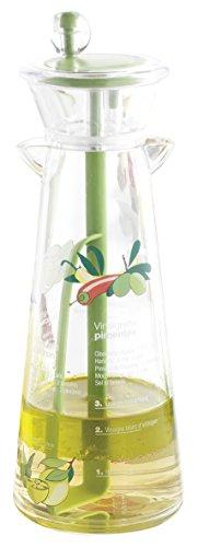 MASTRAD - Mélangeur à Vinaigrette - Création et Conservations Sauces Emulsions - Gradué - Livré Avec Recettes - Acrylique - capacité 300 Ml - Sans BPA