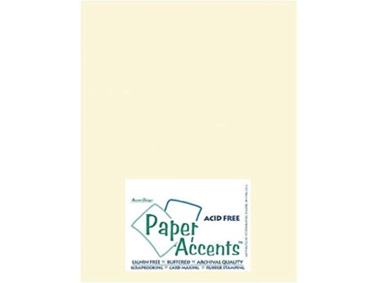 Accent Design Paper Accents Cdstk Smooth 8.5x11 65# Cream Bulk