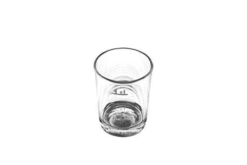 KM-Living 12 Stück Set 2cl / 4cl Kunststoff Mehrweg Schnapsglas - Stamper bruchfest und hochwertig aus PC (PolyCarbonat) glasklar [Made in Germany]