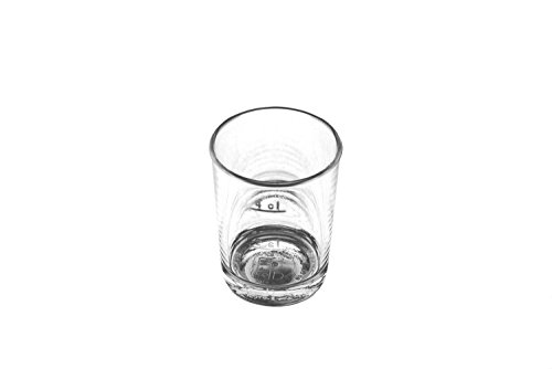 KM-Living 12 Stück Set 2cl / 4cl Kunststoff Mehrweg Schnapsglas - Stamper bruchfest & hochwertig aus PC (PolyCarbonat) glasklar [Made in Germany]