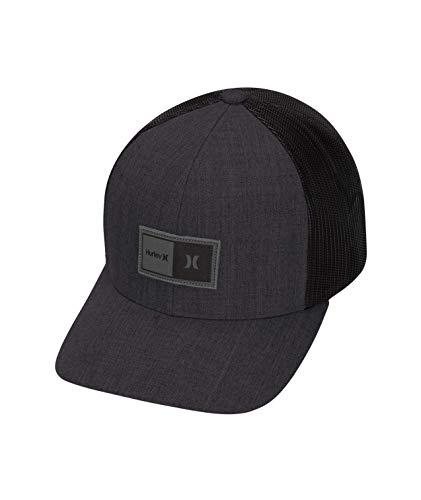Hurley M The Regular Hat Gorras, Hombre, Negro, Talla Única