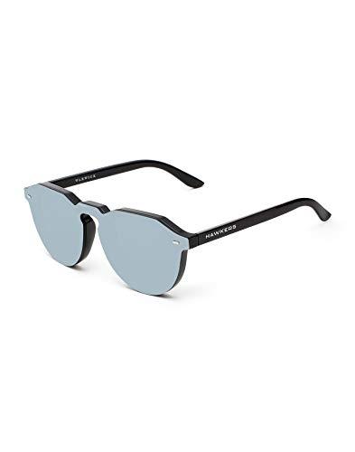 HAWKERS Unisex Erwachsene Hybrid Sonnenbrillen, Warwick Chrome, One Size