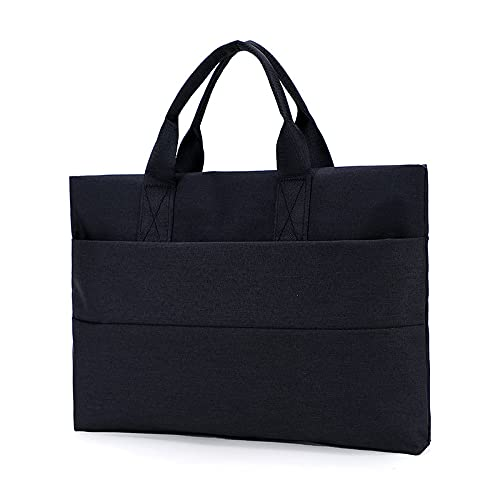QIANJINGCQ Best selling business document bag a4 Oxford zipper briefcase men's and women's document bag handbag hot style