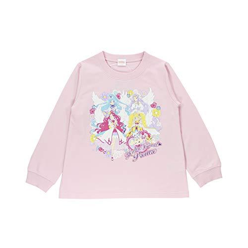 【玩具付き】2021年 春物 ヒーリングっど プリキュア ミニ裏毛 長袖トレーナー precure ピンク◇100cm