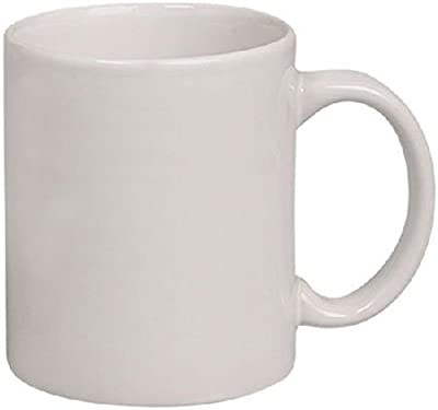Buy Exciting Lives Plain White Ceramic Coffee Mug 325ml White Online At Low Prices In India Amazon In