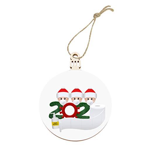 2020 New Christmas Tree Decoration Lighted Pendant Faceless Old Man Pendant