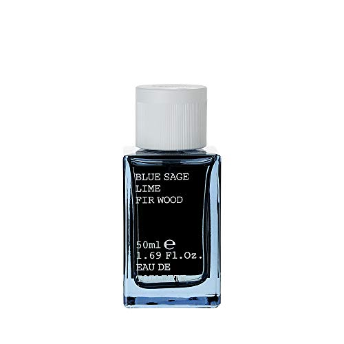 Korres Blue Sage / Lime / Fir Wood homme/men, Eau de Toilette, 1er Pack (1 x 50 ml)