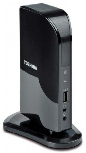 Toshiba Dynadock V10 Mini Port Replicator (DVI) USB-Docking-Station