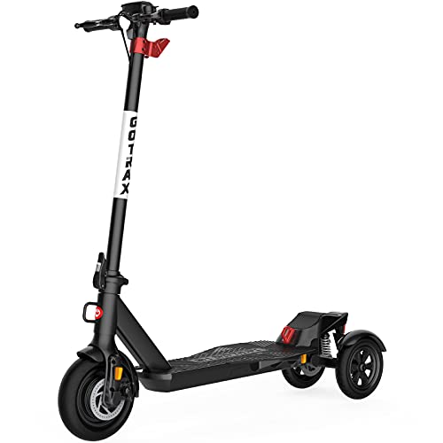 Gotrax G Pro Electric Scooter Adults - 3 Wheels Electric Kick Scooter for Commuters - 15.5 MPH & 24 Mile Range (Black)