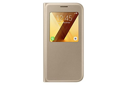 Samsung S-View Standing Cover für Galaxy A5 (2017) gold