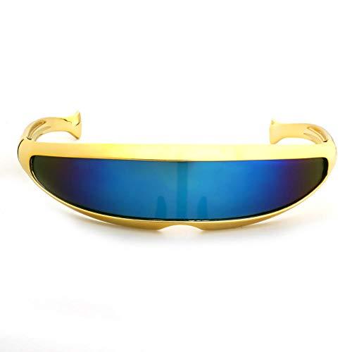 WQZYY&ASDCD Gafas de Sol Gafas De Sol De Personalidad Vintage para Mujer, Gafas De Sol para Hombre, Gafas De Sol para Hombre, Gafas De Sol De Moda para Mujer-5