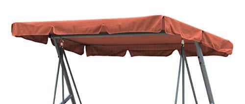 GRASEKAMP Qualität seit 1972 Ersatzdach Universal Hollywoodschaukel Terra Ersatz-Bezug Sonnendach Dachplane