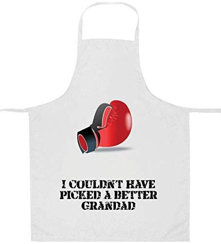 I Couldn't Have Picked a Better Grandad Boxhandschuhe Herren Schürze - Personalisierbar - apd17