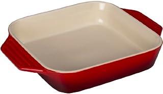 "Le Creuset Stoneware Square Dish, 2.2 qt. (9.5""), Cerise"