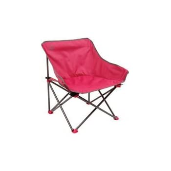 Coleman Chaise de Camping Kickback, chaise pliante compacte et légère, structure en acier, Fauteuil Pliable, pour les festivals, la pêche, la plage et