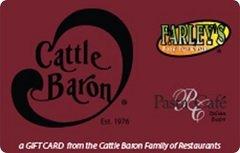 Cattle Baron Restaurant Gift Card ($50)