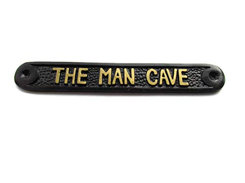 Home Works The Man Cave Perfect For Shed Or Garage Wall Plaque Sign