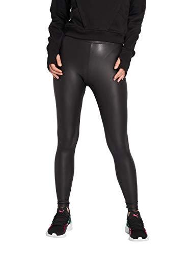 ONLY Damen onlRUBY PU NOOS JRS Leggings, Schwarz (Black), W25 (Herstellergröße: XS)