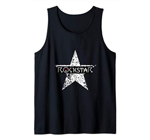 traje de estilo de vida de estrella de rock genial Camiseta sin Mangas