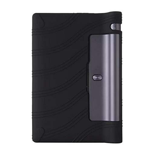para Lenovo Yoga Tablet 3 8 850f Funda de Silicona para Lenovo Yoga Tab 3 8.0 850f 8.0 850 Cubierta Protectora Suave de Gel de sílice-Negro