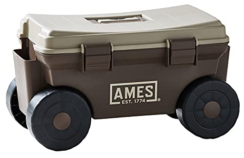AMES 20213200 Rolling Lawn & Garden Storage Cart