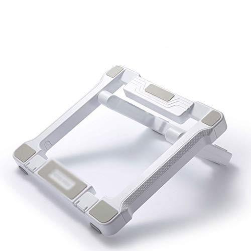 Soporte de portátil Escritorio Monitor Ascensor Mesa basculante Soporte for portátil Levantar la Base del Estante de la Ayuda Portable del disipador de Calor de Almacenamiento Soporte para Laptop