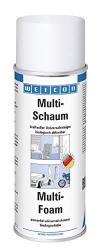 WEICON Multi-Schaum 400 ml | Universal Schaumreiniger für Polster, Scheiben, Kunststoff und Metall | Biologisch abbaubar