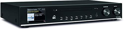 TechniSat DIGITRADIO 140 – Multiroom Hi-Fi-Tuner – Digitales Internetradio (mit Wi-Fi Audio-Streaming-Funktion, Bluetooth und CD-Player)