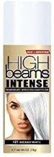 High Beams Intensive Temple Spray -On Hair Hair - Wicked White 2.7 oz