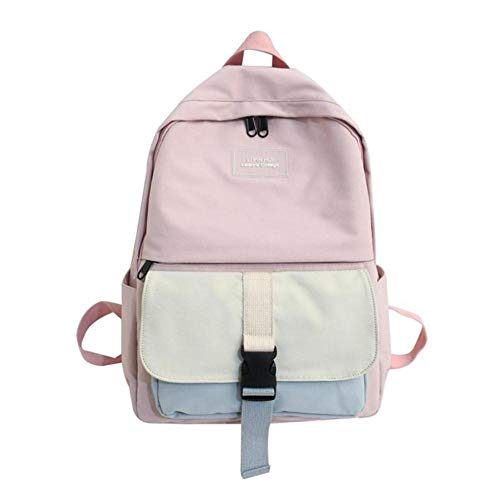 RMI Nylon laptop backpack 15 inch Notebook Backapck for women travel bagpack College school backpack girl,Pink