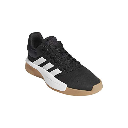 adidas Pro Adversary Low 2019, Zapatos de Baloncesto para Hombre, Negro (Core Black/Ftwr White/Gum 3 Core Black/Ftwr White/Gum 3), 41 1/3 EU