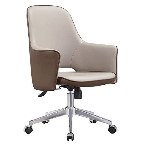 AYHa Bürostühle, Bürostuhl Chefsessel Roller Bürocomputer Stuhl Konferenzstuhl Hotel Desk Chair Leder Art Einfache moderne Stühle