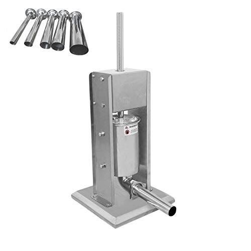 Poussoir à Saucisse 5L Inox 304 Robuste Industriel Commercial Machine à Viande 2...