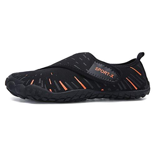 GDSSX 【 Chaussures De Fitness en Salle Hommes Et Femmes Squat Hard Running Chaussures De Tapis De Course Léger Respirant Chaussures De Corde De Marche Chaussures De Plage en Plein Air 】