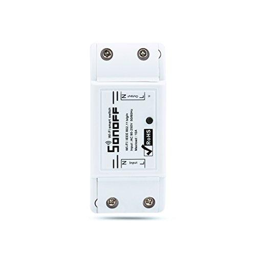 Sonoff Modulo di interruttore intelligente senza fili di Wifi per la casa DIY APP Automazione domestica di telecomando