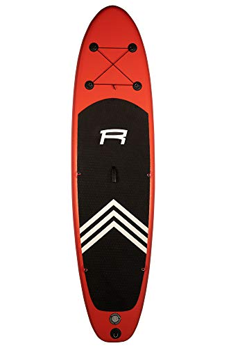 ROHE Pack Stand Up Paddle Gonflable KEAI 10'8, 325x81x15cm - avec pagaie, Pompe de gonflage et Sac...
