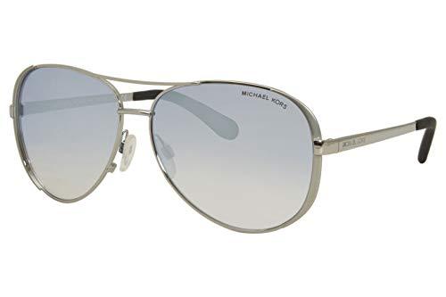 Michael Kors 0MK5004 Gafas, Plateado, 59 para Mujer