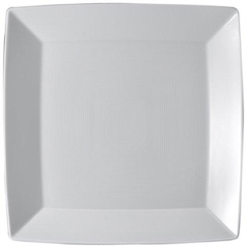 Thomas' Loft - Plat carré Plat 27cm, Blanc