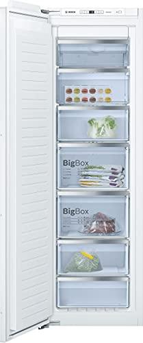 Bosch Elettrodomestici GIN81AEF0 Serie 6, Congelatore da incasso, 177.2 x 55.8 cm No Frost