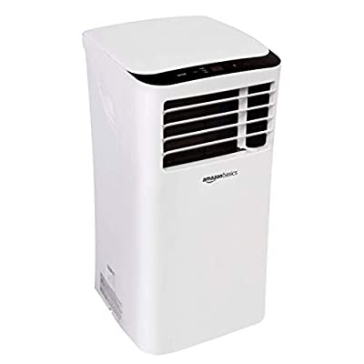 AmazonBasics Portable Air Conditioner with Remote - Cools 400 Square Feet, 10,000 BTU