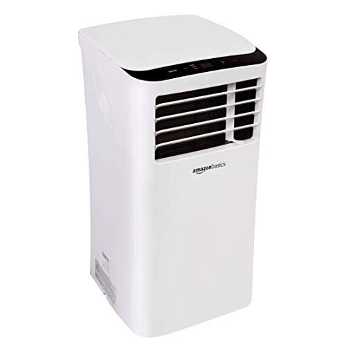 Amazon Basics Portable Air Conditioner with Remote - Cools 400 Square Feet, 10,000 BTU