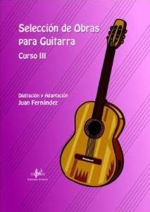 SELECCION DE OBRAS PARA GUITARRA CURSO 3º
