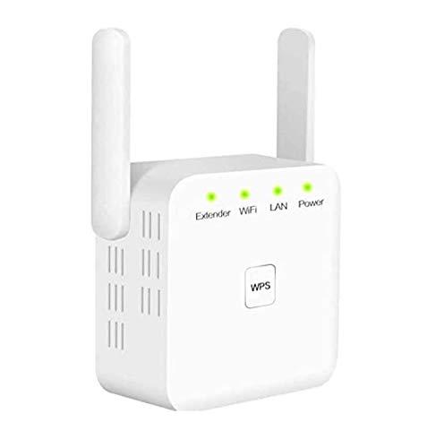 YHX Extensor De Señal WiFi, Amplificador De WiFi De Internet 2.4G para El Hogar 300Mbps Superboost Wi-Fi Blast Range Amplificador De Señal WLAN Repetidor Admite Modo RP/Ap, Fácil Configuración