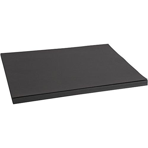 Cartulina, A2 42x60 cm, 200 cm, negro, 100 hojas