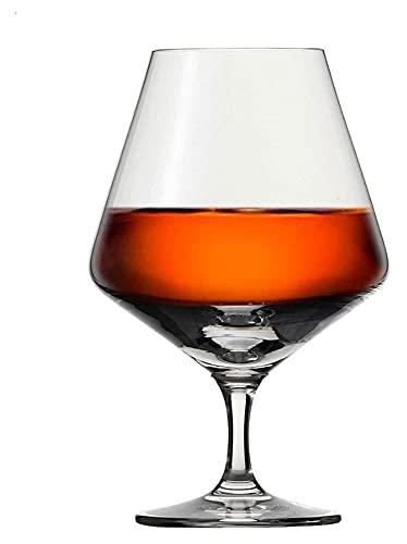 LPQSY Copas de Vino Copas de Vino Gafas de Whisky- (Juego de 2), Vidrio de Cristal sin Plomo soplado a Mano para escocés, Bourbon, coñac, cóctel, Regalos de Gafas de champán