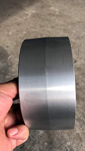 160 * 50/55 agujero interior personalizado totalmente amoladora de cinta de aluminio rueda de conducción de rodillo para lijadora de cinta, agujero interior 27 mm, 160x55