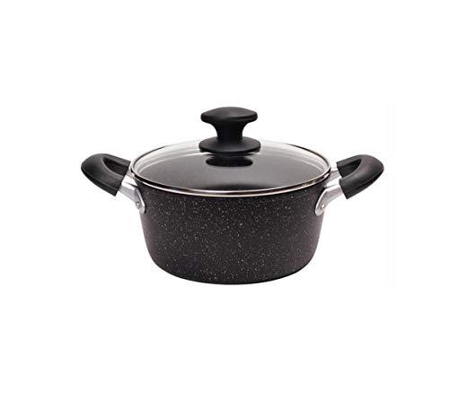 LULUDP Casseroles et poëles Pot à soupe Casserole Pan Cookware Maifan Stone Pot À Soupe Cuisinière Épaississement Des Ménages Oreille Casserole Ustensiles De Cuisine Cuisinière À Gaz Pot Parfait pour