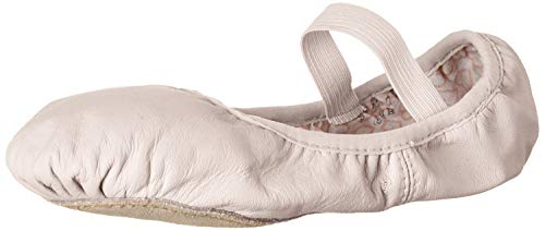 Bloch Girl's Dance Belle Full-Sole Leather Ballet Shoe/Slipper, Theatrical Pink, 12 B US Little Kid