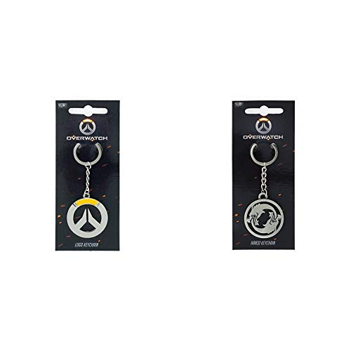 Gaya Entertainment Overwatch Keychain Logo & Overwatch Keychain Hanzo